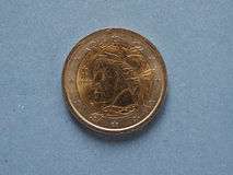 2 euro coin, European Union Stock Photography