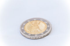 2 Euro Coin with german backside Stock Photography