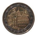 2 Euro coin from Germany Royalty Free Stock Image
