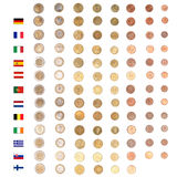 Euro coin money Stock Images