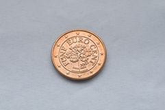 Euro coin2 Royalty Free Stock Photography