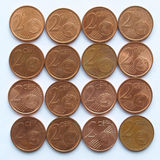 Euro coins Royalty Free Stock Images
