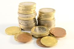 Free Euro Coins Royalty Free Stock Photography - 18830197