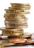 Euro coins. Stock Image