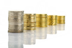 Euro coins Stock Photography