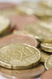 Euro Coins. Stock Image
