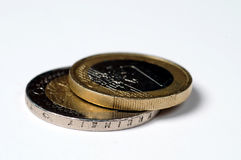 Euro Coins Royalty Free Stock Photography