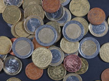 Euro coins Stock Images