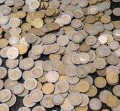 Euro coins. Euro European Union coins, background stock images