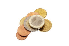 Euro coins set of germany Stock Photos