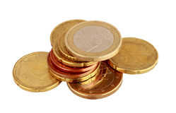 Euro coins Royalty Free Stock Image
