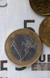 Euro coins Royalty Free Stock Photo