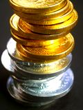 Euro coins4 Royalty Free Stock Images