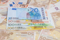 Euro collection Stock Photo