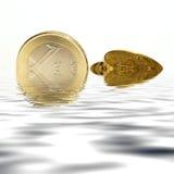 Euro concept royalty-vrije stock foto's