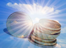 Euro concept royalty-vrije illustratie