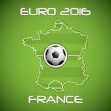 Euro 2016 Stock Photography