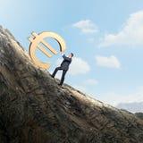 Euro concetto Fotografia Stock Libera da Diritti