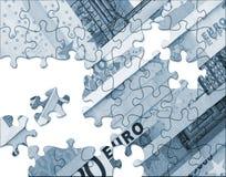Euro concetto di economia Immagine Stock Libera da Diritti