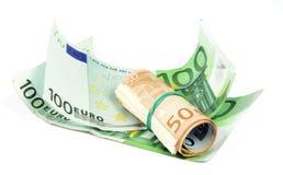 Euro- contas Imagem de Stock Royalty Free