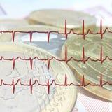 Euro contrôle de santé Photographie stock