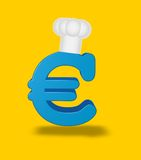 Euro cook Royalty Free Stock Photography