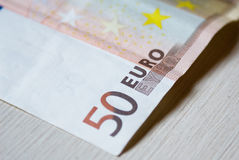Euro copie de billet de banque Image stock