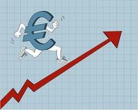 Euro corriente Fotografía de archivo