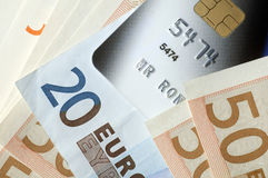 Euro credit Royalty Free Stock Photos