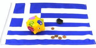 Euro cricis in Greece Stock Photo