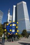 Euro crises Stock Image