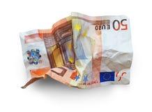 Euro crisi Immagini Stock