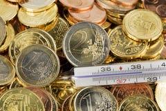 Euro crisis Stock Images