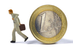 Euro crisis Stock Photography