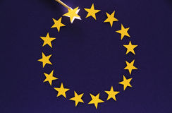 EURO Crisis Royalty Free Stock Photo