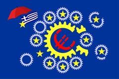 Euro Crisis Stock Afbeeldingen