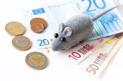 Euro crisis concept Stock Photos