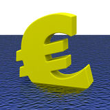 The euro crisis Stock Images