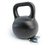 Euro crisis dumbbell weights. On a white background Royalty Free Stock Photography