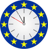 Euro crisis - vector Stock Photography