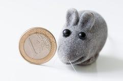 Euro crisisconcept Stock Afbeelding