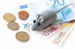 Euro crisisconcept Stock Foto's