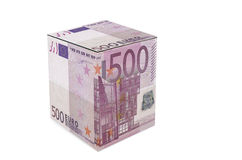 Euro Cube Royalty Free Stock Images