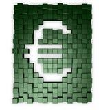 Euro cubes Royalty Free Stock Image