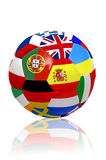 Euro cup Ball Stock Photo