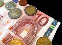 Euro currencies Stock Images