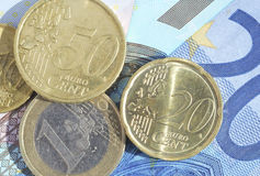 Euro currency Royalty Free Stock Photography