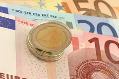 Euro Currency Royalty Free Stock Images