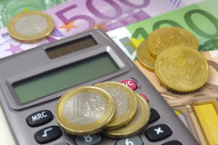 Euro currency Stock Photos