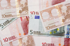 Euro currency Royalty Free Stock Photos